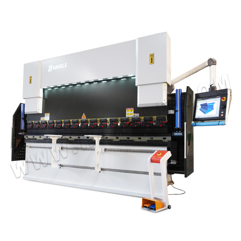 Genius WE67K-100T/3200 Press Brake with DA-69T, 3D Graphic Programming, 8+1 Axis CNC Bending Machine for Sale