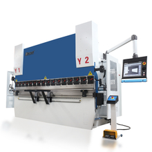 8-Axis CNC Hydraulic Press Brake Machine with DA-66T 3D Bending Simulation