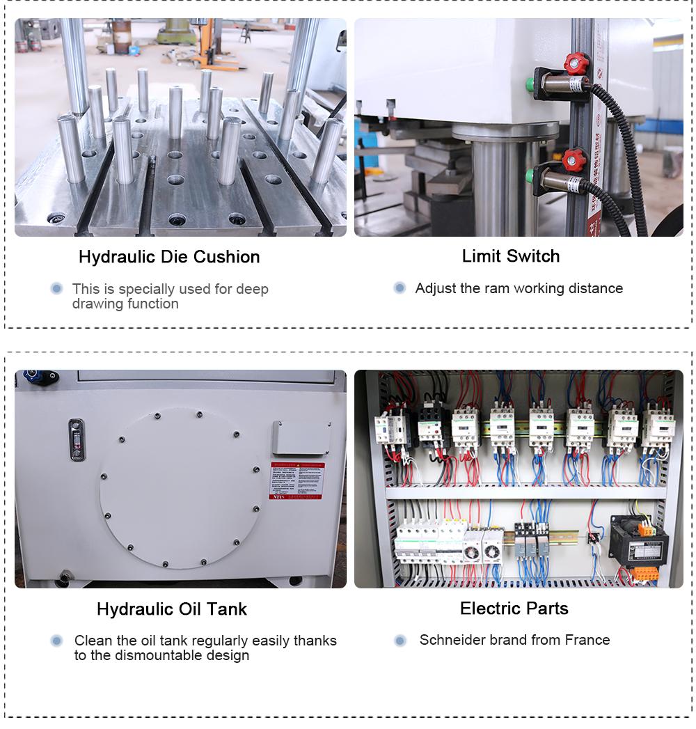 Y27-500T four column hydraulic press machine, 500 ton