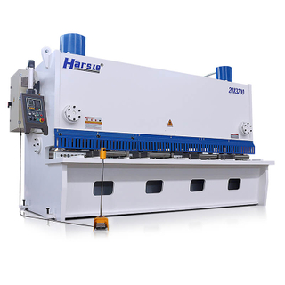 QC11K Hydraulic Guillotine Shearing Machine with E21S
