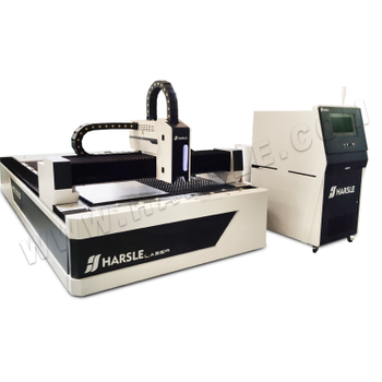 HS-1000W-3015 CNC Fiber Laser Cutting Machine, HARSLE Stainless steel laser cutter