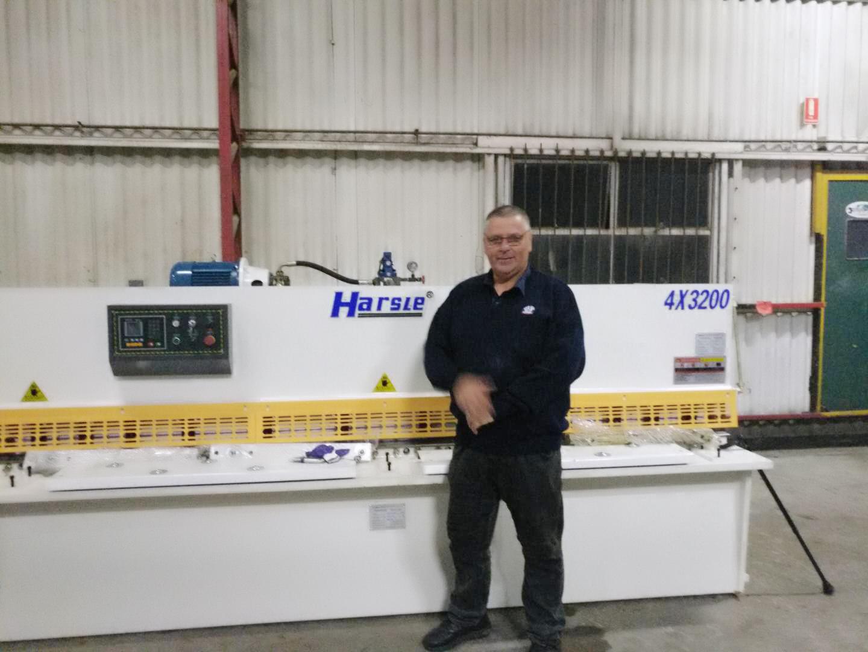 新利LB快乐彩新利18登录HARSLE机器安装在澳大利亚