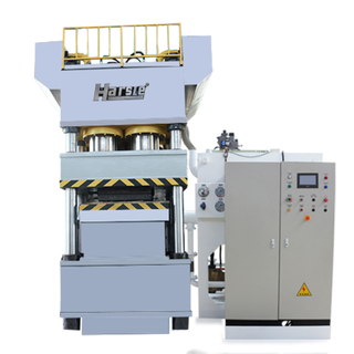 Double-Action Hydraulic Steel Metal Door Embossing Machine