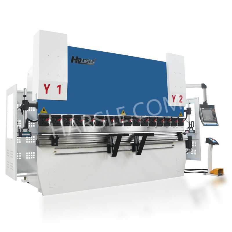 WE67K-110T/3200 hydraulic press brake tooling with DA66T for