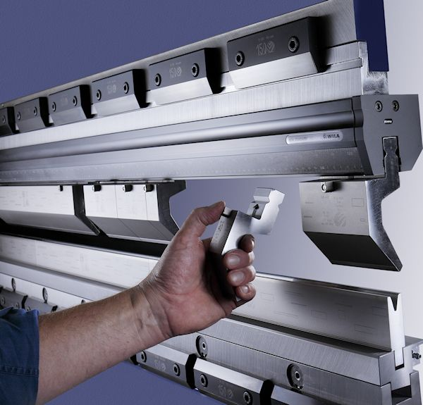 Advantages of CNC Press Brake Tooling Hydraulic Clamping System