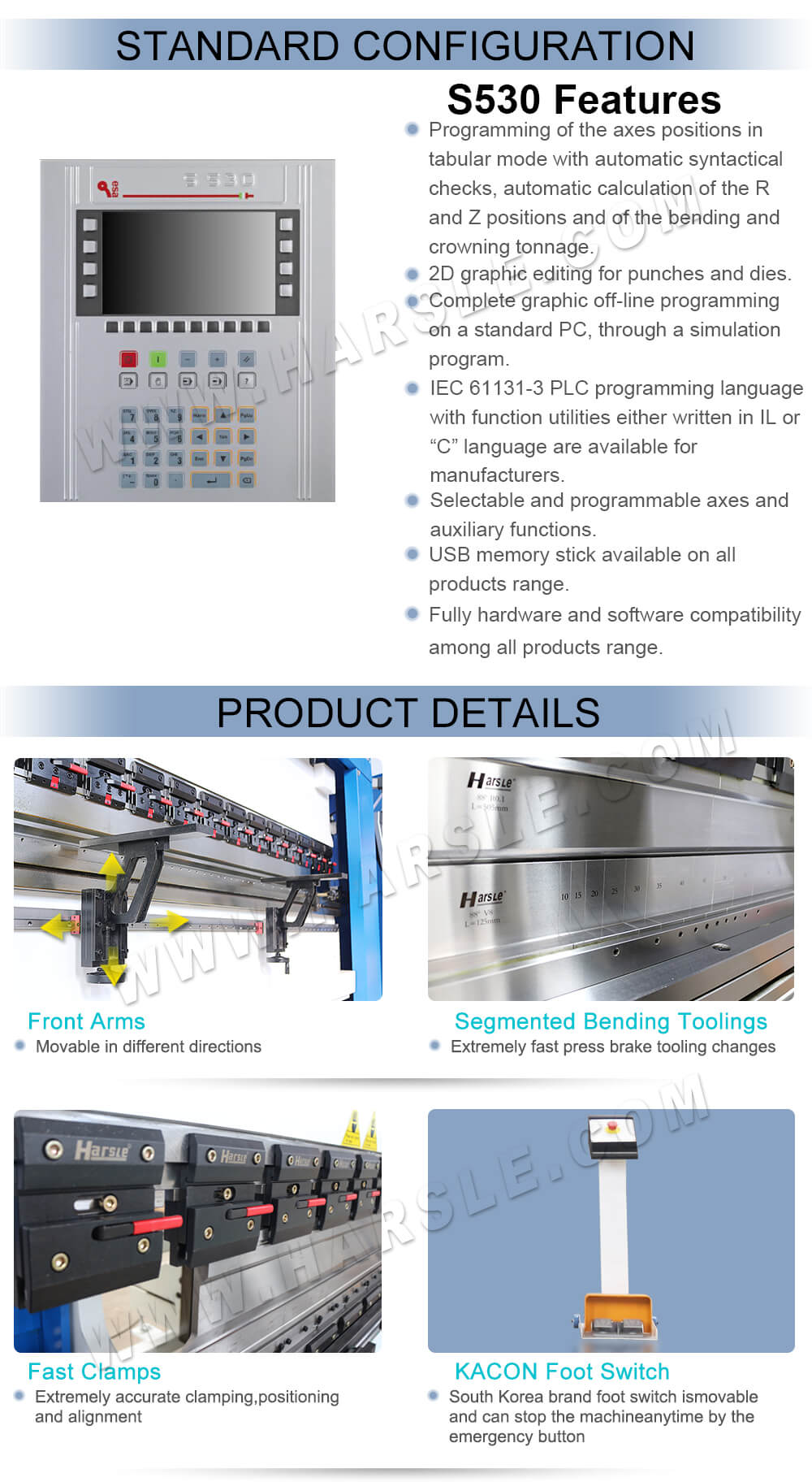 CNC Press Brake Machine for Sale, Sheet Metal Bending
