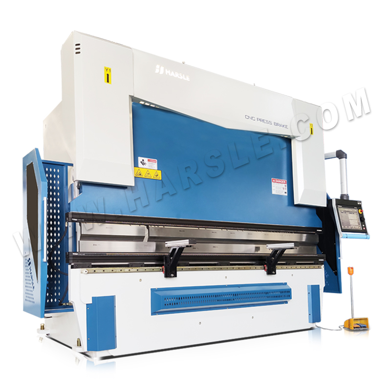 WE67K-160T/3200 Electro-hydraulic CNC Press Brake with DA-69T