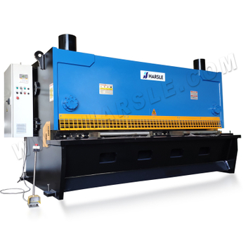 CNC Hydraulic Guillotine Shearing Machine with ELGO P40, Cutting 20mm thickness metal sheet